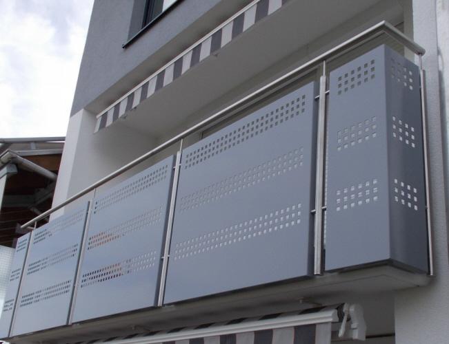 edelstahl balkongelaender. Black Bedroom Furniture Sets. Home Design Ideas